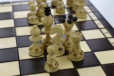 Wooden Chess Set 35 X 35 Hand Crafted Woodeeworld