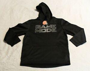 The Children's Place Boy's Sport Game Mode Sweatshirt CH3 Black Large NWT