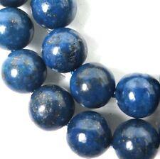 10mm natural Indigo Lapis Lazuli Round Beads (19pc)