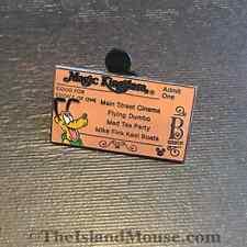 Disney HM Magic Kingdom Ticket B Pluto Pin (US:51161)
