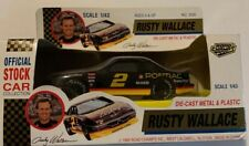 NASCAR Rusty Wallace #2 Road Champs 1992 Stock Car 1:43 Scale