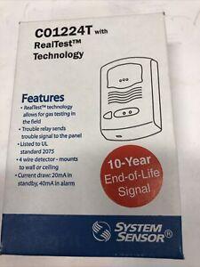 System Sensor CO1224T Carbon Monoxide Detector New