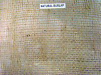 Natural Burlap; Weed Control / Tree Wraps / Plant Protection / Vegetable Garden