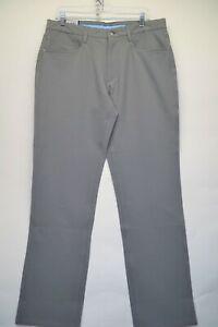 FootJoy Mens Grey Performance Athletic Fit 34x32 Golf Pants NEW (G1)