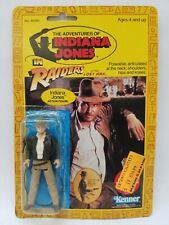 Kenner Indiana Jones 1982 Action Figure Complete on the Card Rare