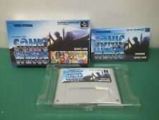 SNES -- SONIC WINGS -- Boxed. Super famicom, Japan Game. 13499