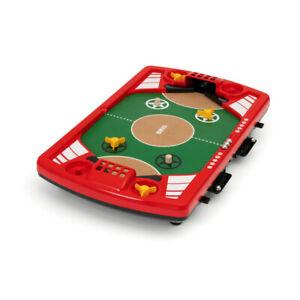 BRIO Spiele Tischfußball-Flipper Flipperspiel Tisch Fußball Tischflipper Kinder