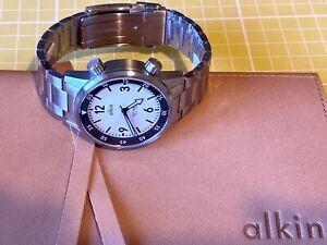 Alkin Model Two, Dual Crown, Super Compressor 300m Automatic Dive Divers Watch.