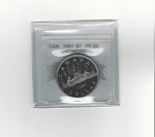 **1981** Coin Mart Graded Canadian Dollar **PF-68 UHC**