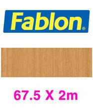 Genuine Fablon Sticky Back Plastic - FAB11236 Oak Pale Brown 67.5cm X 2m New