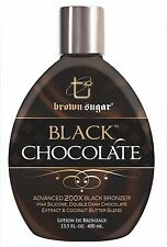 Tan Incorporated Brown Sugar Black Chocolate 200x  Bronzer Tanning Lotion 400ml