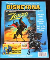 Zorro 1995 Walt Disney Collectibles Tomart's Disneyana Update Magazine Animation