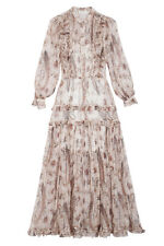 Zimmermann MISCHIEF FRILL PAISLEY DRESS  Size 1 BNWT Sold Out