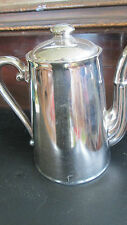 "ROYAL WORCESTER SILVER COFFEE POT 8"" TALL"
