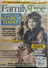 Family Tree UK Jan 2017 Start Your Search Today Ancestry Census FREE SHIPPING sb