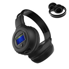 3.5mm Bluetooth Kopfhörer Stereo Kabellos Headset mit Mikrofon für PC Mac Handy
