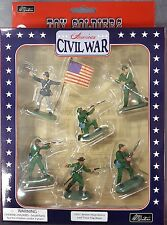 W Britain American Civil War - Berdans Sharpshooters with Union Flag Bearer