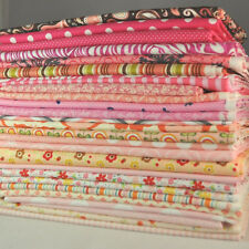 Designer Fabric Scrap Bag Pink, 2 yards total, 100% cotton fabric