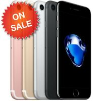 APPLE iPHONE 7 (FACTORY UNLOCKED) VERIZON AT&T T-MOBILE SPRINT GSM 32GB 128 256