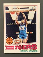1977 Topps #132 Darryl Dawkins Rookie VG-VGEX Philadelphia 76ers