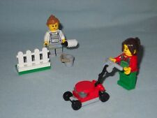 2 NEW LEGO GIRL MINIFIGS (PAINTER & LAWN MOWER) FROM 60134,FUN IN THE PARK