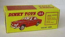 REPRO BOX DINKY n. 184 VOLVO 122 S