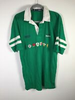 VINTAGE O'Neills Rugby Union 6 nations Ireland Jersey size M short sleeve