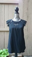 Brixon Ivey black blouse - size small - NWOT