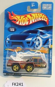 Hot wheels HW Flame Stopper Brown Collector #188 FNQHotwheels FK241