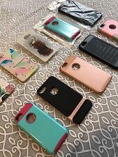 Lote De Diez Covers Para iPhone De Diferentes Tamaños 3 Nuevos El Resto Usados