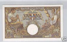 SERBIE 1 000 DINARA 1.5.1942 PICK 32 a !!!!