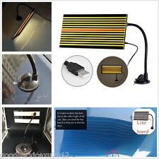Portable Car Truck LED Line Board Paint Less Dent Hail Repair Testing Repair Kit