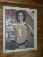 Rolling Stone Magazine  March 11th  1976 Donny Osmond  Cover   Issue 208