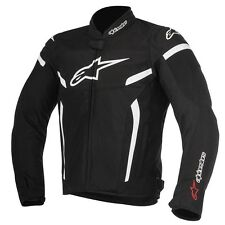 ALPINESTARS T-GP PLUS R V2 TEXTILE AIR JACKET B/W 3300617-12 LARGE