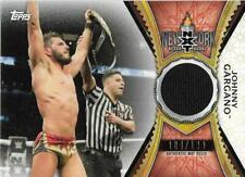 2020 Topps WWE Road to WrestleMania Mat Relics #MRJG Johnny Gargano/199