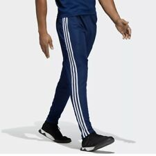 Adidas Tiro 19 Men's Athletic Soccer Pants Blue Track Fitted Joggers Football