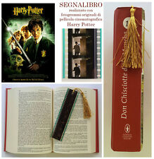 SEGNALIBRO BOOKMARK HARRY POTTER FOTOGRAMMI DI PELLICOLA FILM CINEMA LIBRI