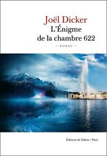L'Énigme de la Chambre 622 Nouveauté Joel Dicker PDF / EPUB / MOBI (KINDLE)