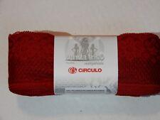 Circulo Renda Trico Margarida Poliamida Lace Yarn 30 yds Color: 258 Red