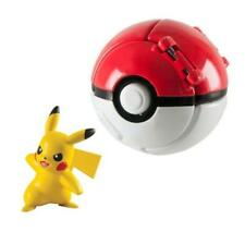 Pokemon Throw N Pop Poke Ball Pikachu Figure & Ultra Ball