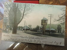 1907 Ellenville RR O&W Ontario & Western Station Depot Ulster Co. NY Post Card