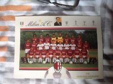 More details for ac milan postcard team rare item 1992/93