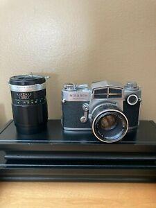 Miranda Sensorex 35mm Film camera with 135mm lens