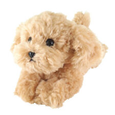 Cuddler Puppy Soft Plush (Toy Poodle Apricot) cute & realistic (S)