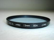 Hoya HMC 72mm 82A  Filter