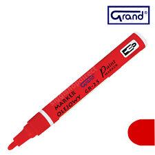 Universal Red Paint Marker base di olio penna per IMPERMEABILE legno vetro plastica Pneumatico