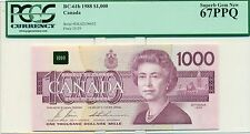 1988 $1000 BC-61b  PCGS 67PPQ