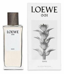 LOEWE 001 MAN * 3.3/3.4 oz (100ml) Eau de Parfum EDP Spray * NEW & SEALED