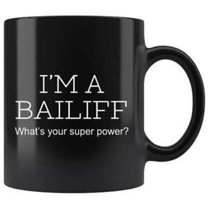 Bailiff Gift Mug Black Cup