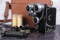 Vintage CINE CAMERA Neva-2 8mm LOMO made in USSR / serviced